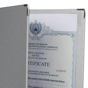 dosky na certifikáty diplomy